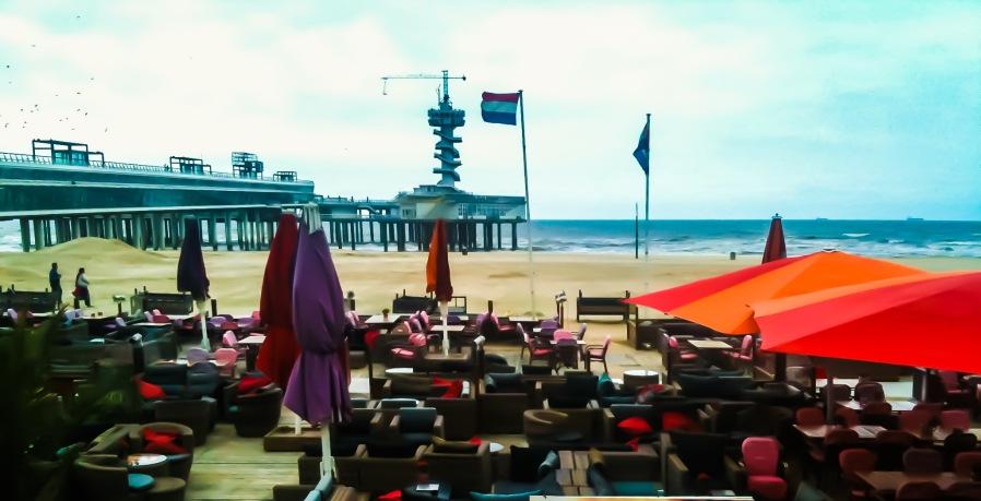 Hague beach, Netherlands