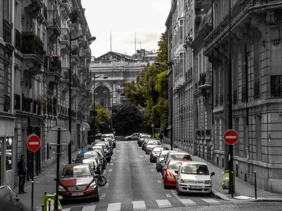 A random street in Paris