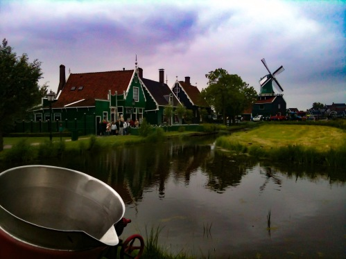 chocolate, cheese and wooden shoes factories in Netherlands