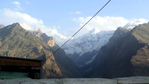 View from top of Baltit Fort