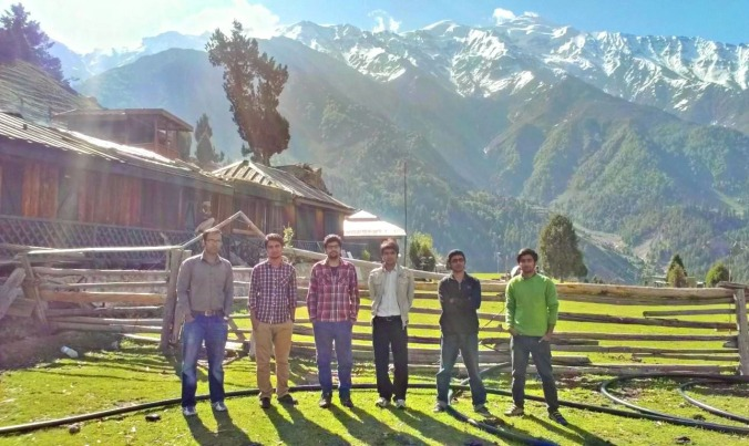 View from Fairy Meadows