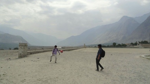 Gilgit valley football