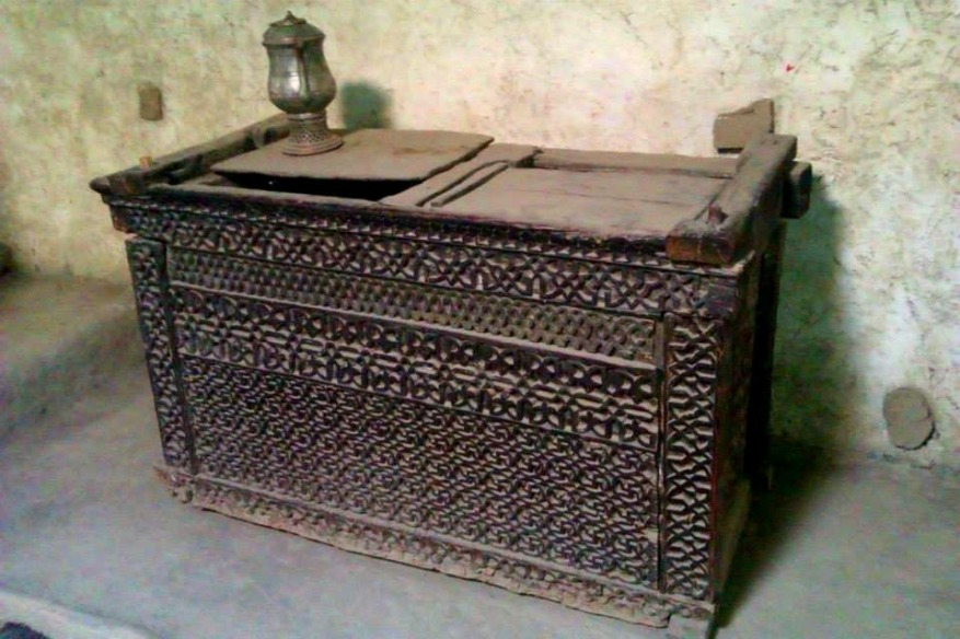 Ancient chest Inside Baltit Fort