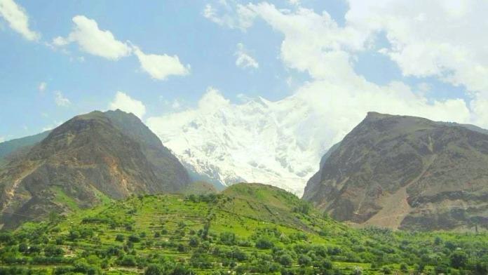 Rakaposhi mountains