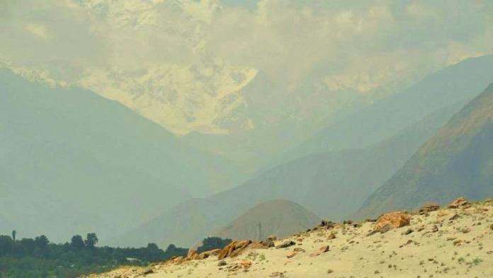 Mt. Ultar Sar in the backdrop