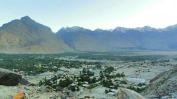view atop Skardu fort